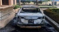 Toyota Vios tự bốc cháy, vì sao chủ xe chưa kiện hãng?