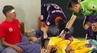 Cựu tuyển thủ U23 Việt Nam cấp cứu, xuất viện với 15 mũi khâu