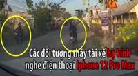 Clip: Nhóm cướp dàn cảnh cướp điện thoại iPhone 12 Pro Max cực chuyên nghiệp và điêu luyện