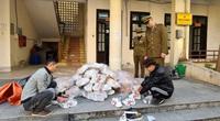 Hà Giang: Tiêu hủy hơn 200 đôi giày nhái nhãn hiệu GUCCI