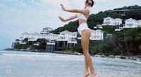 Hậu giảm cân, Văn Mai Hương xinh đẹp, tự tin diện bikini đón năm mới