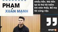 Phạm Xuân Mạnh: Căn nhà mái dột, 200 nghìn của mẹ và đá bóng vì... tiền
