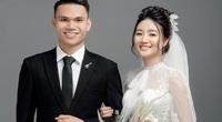 """2 tuyển thủ Việt Nam cưới vợ đầu năm 2021: Toàn """"hot-girl"""", con nhà giàu"""