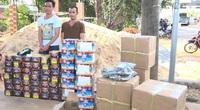 Bình Phước: Phát hiện nhiều vụ vận chuyển hàng trăm kg pháo tết