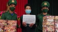 Bắt gần 300kg pháo lậu từ Campuchia về Việt Nam tại Kon Tum