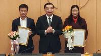 Hà Nội có hai tân Giám đốc Sở
