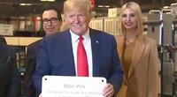 Trump tiết lộ số quà cáp được tặng trong năm cuối cùng tại nhiệm