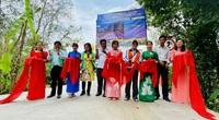 Hậu Giang: Khánh thành 2 cây cầu nông thôn phục vụ người dân đi lại dịp Tết
