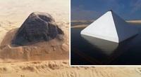 Kim tự tháp nổi đáng kinh ngạc của Ai Cập lộ ra bí mật 4.000 năm bị khóa chặt