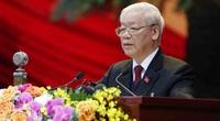 """Tổng Bí thư, Chủ tịch nước Nguyễn Phú Trọng: Công tác cán bộ phải thực sự là """"then chốt của then chốt"""""""