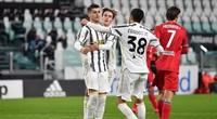 Ronaldo không thi đấu, Juve vẫn dễ dàng vào tứ kết Coppa Italia