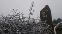 Clip: Đỉnh Mẫu Sơn lạnh dưới 0 độ C, xuất hiện băng giá