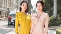 Đỗ Mỹ Linh, Trần Tiểu Vy gợi ý cách mặc áo dài Tết đẹp như Hoa hậu