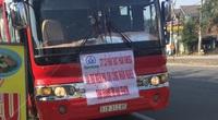 Bất chấp hiệu lệnh, xe khách vượt chốt kiểm soát dịch Covid-19 tại Đà Nẵng