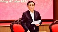 Bí thư Hà Nội Vương Đình Huệ yêu cầu sớm ban hành đồ án quy hoạch phân khu sông Hồng