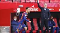 """Messi giúp Barca hạ Sevilla, HLV Koeman bật mí về """"hệ thống mạo hiểm"""""""
