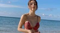 """""""Bông hồng lai Việt - Pháp"""" MLee tự tin khoe gương mặt cá tính cùng vóc dáng gợi cảm với bikini"""