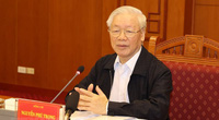 Ảnh: Tổng Bí thư chủ trì họp Thường trực Ban chỉ đạo về chống tham nhũng