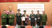 Phó Giám đốc Công an TP.Hà Nội Đoàn Ngọc Hùng nhận quyết định nghỉ chờ hưu trí