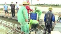 Hải Dương: Thương lái thu mua thủy sản thuận lợi, bà con vui mừng phấn khởi