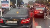 Tạm giữ, xác định được chủ nhân xe Mercedes Benz cùng BKS 30E-488.16