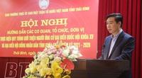 Hạn chót nộp hồ sơ ứng cử đại biểu Quốc hội khóa XV, HĐND ở Thái Bình đến ngày nào?