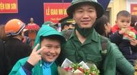 Ảnh: 1.400 tân binh Ninh Bình đồng loạt lên đường nhập ngũ