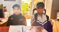 Đắk Lắk: Nhặt được tiền, hai học sinh lớp 6 mang đến công an nhờ trả lại cho người đánh rơi