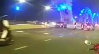 """Đà Nẵng: Tài xế Mercedes tự ý dừng xe giữa cầu Rồng để """"sống ảo"""""""