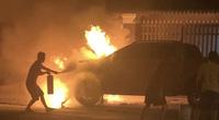 Bình Dương: Điều tra nguyên nhân vụ cháy xe bán tải và xe máy khiến một người chết