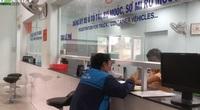 """Clip: Vắng tanh ngày đầu tiên CSGT TP. Hồ Chí Minh """"tăng ca"""" hỗ trợ người dân đổi biển số xe nền vàng"""