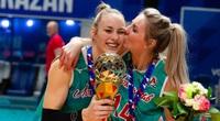 Hoa khôi bóng chuyền người Đức làm điều chưa từng có tại Nga
