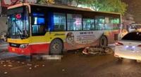 Hà Nội: Nam thanh niên thiệt mạng thương tâm sau va chạm với xe buýt