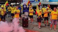 [TRỰC TIẾP] Cổ động viên Nam Định phấn khích trước trận Hoàng Anh Gia Lai và Nam Định
