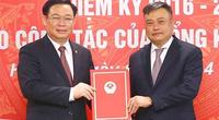 Chủ tịch Quốc hội Vương Đình Huệ trao Nghị quyết bầu Tổng Kiểm toán Nhà nước cho ông Trần Sỹ Thanh