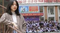 Nữ sinh lớp 11 trường Ams - thủ lĩnh nhóm 200 học sinh siêu giỏi tư vấn thi lớp 10 Hà Nội