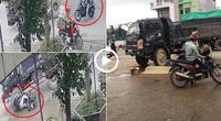 Clip nóng: Phóng xe Exciter không quan sát, nam thanh niên tử nạn thương tâm dưới bánh xe tải