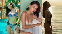 """""""Bỏng mắt"""" ngắm dàn Hoa hậu, Á hậu mặc bikini quyến rũ chào hè"""