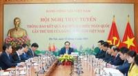 Hội nghị trực tuyến thông báo kết quả Đại hội XIII của Đảng ta tới Đảng CS Trung Quốc