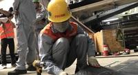 Kiểm tra an toàn lao động tại dự án tàu điện ngầm Hà Nội