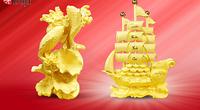 Giá vàng hôm nay 14/4: Đồng USD giảm nhanh, vàng có thời điểm tăng thẳng đứng 25 USD/ounce