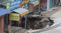 """Đã xác định được nguyên nhân gây ra """"hố tử thần"""" rộng hơn 100m2 ở Hà Nội"""