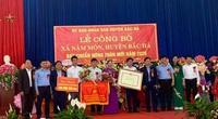 Lào Cai: Xã Nậm Mòn đạt chuẩn nông thôn mới