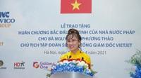 CEO Vietjet Nguyễn Thị Phương Thảo nhận Huân chương Bắc đẩu bội tinh của Pháp