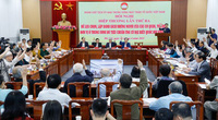 Biểu quyết danh sách 205 người của các cơ quan Trung ương ứng cử ĐBQH, có 16 Ủy viên Bộ Chính trị