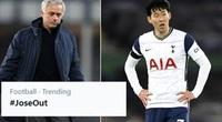 Tottenham hòa Everton, làn sóng đòi sa thải Mourinho dâng cao