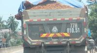 """Đoàn xe hổ vồ logo Bá Sanh Đường """"tung hoành"""" ở Thị xã Hoài Nhơn: Chẳng lẽ """"bó tay""""?"""