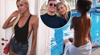 Bạn gái siêu mẫu phản đối Luka Jovic trở lại Real Madrid