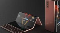 Siêu phẩm Samsung Galaxy Z Fold Tab màn hình gập gấp ba lần gây sốt
