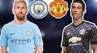 Ngóng Messi và Ronaldo tái ngộ... derby Manchester